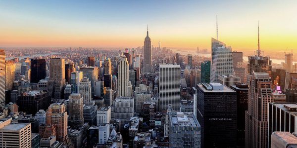New York City. Manhattan Downtown Skyline.